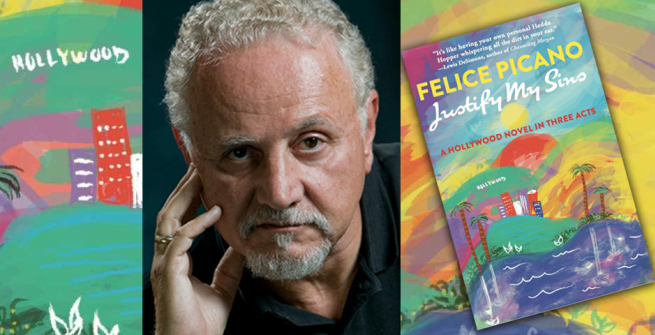 Author Felice Picano and his latest book