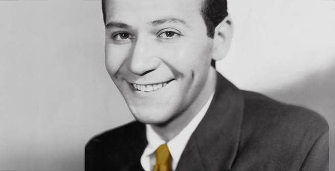 Frank Loesser on the album cover of Heart & Soul: Celebrating The Unforgettable Songs Of Frank Loesser