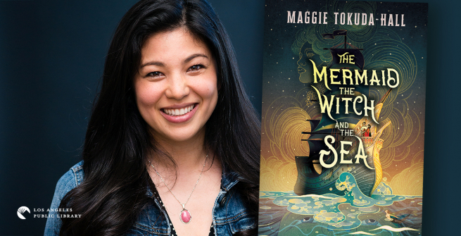 Maggie Tokuda-Hall and her debut novel, The Mermaid, The Witch and The Sea