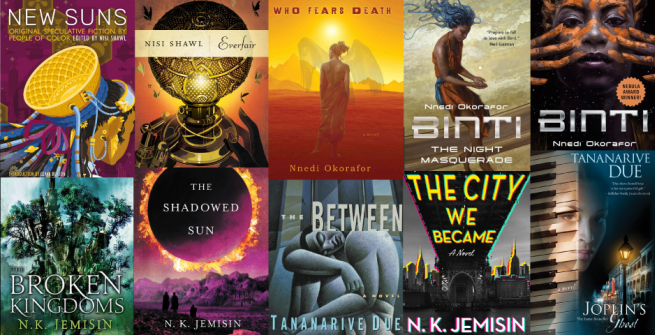 Books by authors that were influenced by Octavia Butler