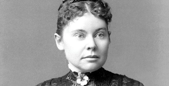 Portrait of Lizzie Borden in 1890