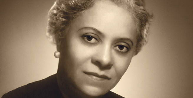Portrait of Florence Price taken by G. Niledoff