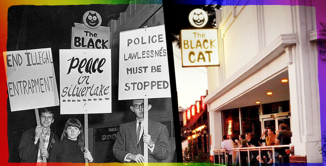 black cat now and then