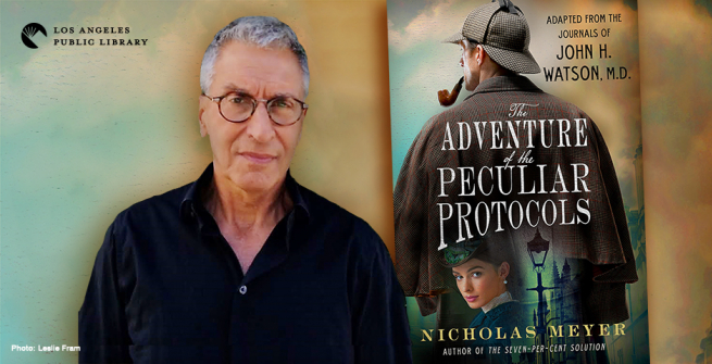 Nicholas Meyer and his latest novel, The Adventure of the Peculiar Protocols