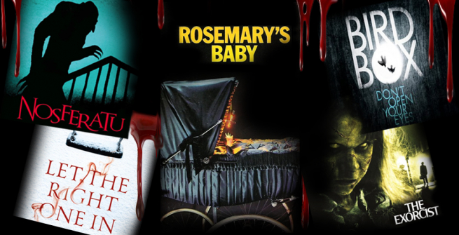 5 spooky movie covers