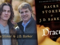 Dacre Stoker with J.D. Barker and the book Dracul