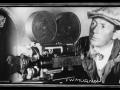 Film director FW Murnau with his creation Nosferatu