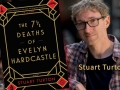 Author Stuart Turton and his debut novel, The 7½ Deaths of Evelyn Hardcastle