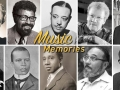 Photos of African-American composers of classical music