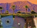 Coachella Valley image with album covers