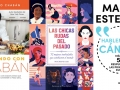 three Spanish books coming out in May