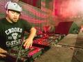 Deorro the DJ spinning tunes
