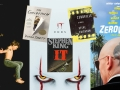 collage of Movie Posters and books
