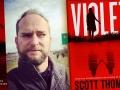 Scott Thomas and his latest novel, Violet
