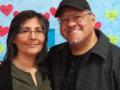 Los Angeles Poet Laureate Luis J. Rodríguez and his wife Trini.
