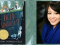 Author Erin Kelly and her book Hello Universe