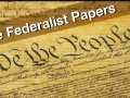federalist papers graphic with an 18th century style signature of We The People