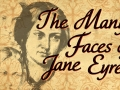 a drawing of Jane Eyre's face