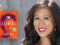Author Lisa Ko and her award winning book the Leavers