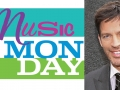 Photo of Harry Connick, Jr. and text that reads Music Monday