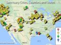 Sanctuary Cities Map