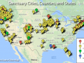 Sanctuary Cities Map