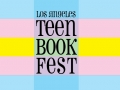 Part of the logo of Los Angeles Teen Book Fest