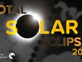 """Image of a total eclipse and text saying """"total solar eclipse 2017"""""""
