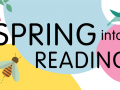 Spring into Reading graphic