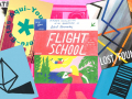 colorful collection of zines