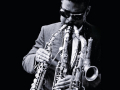 Rashaan Roland Kirk on the cover of Roland Kirk's Finest Hour