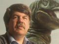Stephen Jay Gould on the book cover, Stephen Jay Gould: Reflections on His View of Life