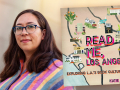 Author Katie Orphan and her book, Read Me Los Angeles: Exploring L.A.'s Book Culture