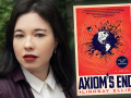 Author Lindsay Ellis and her debut novel, Axiom's End