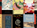 Book collage for Asian Pacific American Month