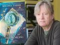 Author Michel Faber and his latest book, (A Tale of Two Worlds)
