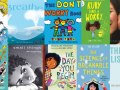 Collage of bibliotherapeutic books for kids