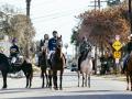 The Compton Cowboys on horseback