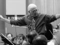 Jerry Goldsmith conducting his film score