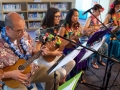 librarians playing ukuleles