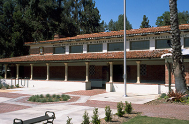Exterior view of the North Hollywood branch