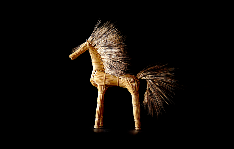 Straw Horse - Morgyn Owens-Celli, American Museum of Straw Art