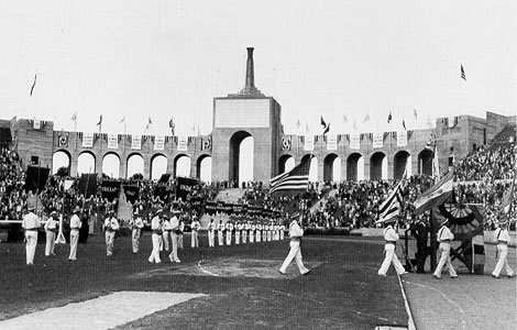 1932 Olympic Games promotion