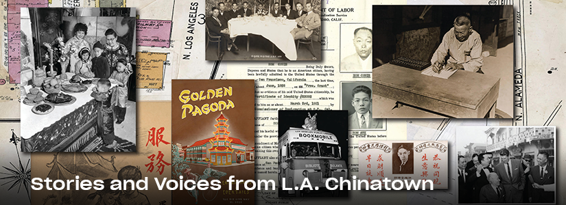 collage of historic images from chinatown