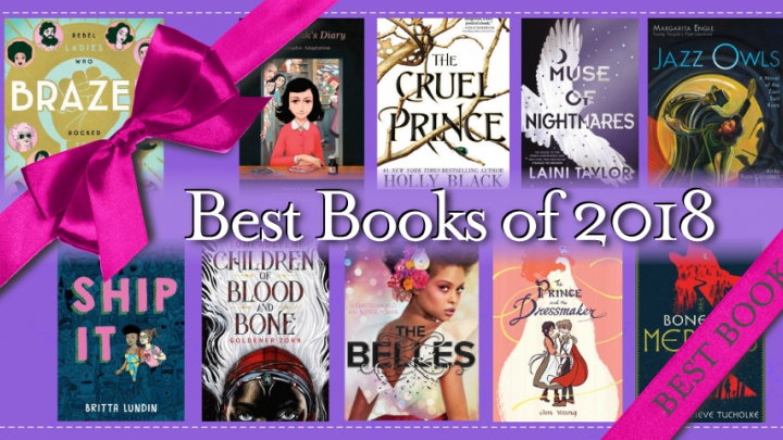 best of 2018 teen book covers wrapped in a bow