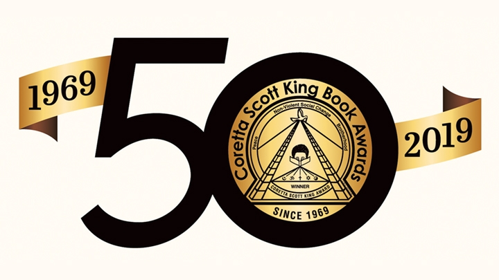 Coretta Scott King Book Awards 50th Anniversary Celebration logo