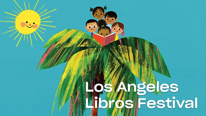 kids in a palm tree reading a book