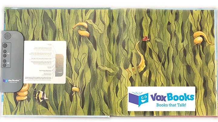 vox book with open pages