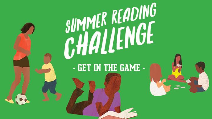 LAPL summer reading challenge logo