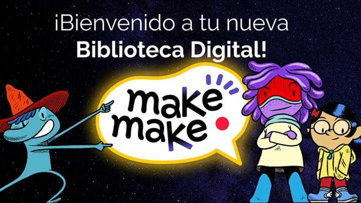 makemake logo and characters
